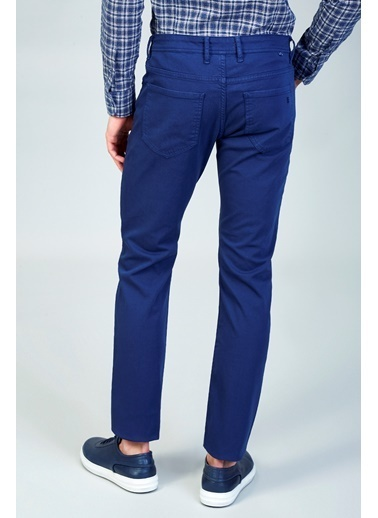 Avva Slim Fit Smart Pantolon İndigo